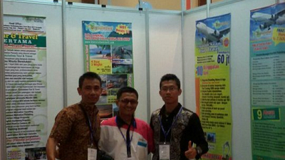 Peserta Expo Franchise & License Indonesia